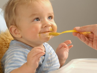 Puree eet baby
