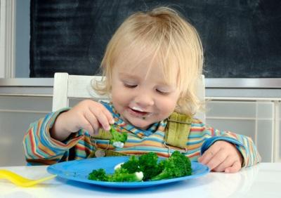 Brokoli untuk memberi makan