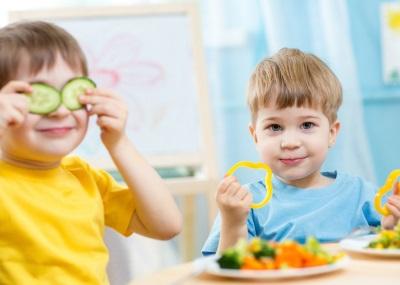 Groenten voor kinderen voeding