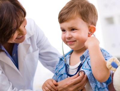 Bayi bayi di doktor