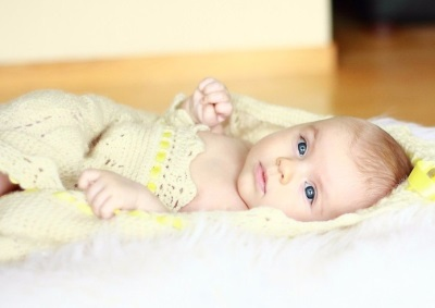 Bambino in buona salute