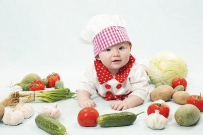 Produk dengan prebiotik dalam diet kanak-kanak