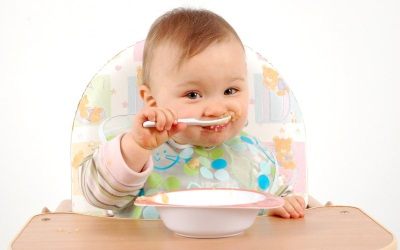 เด็กเสริม - กินข้าวต้ม