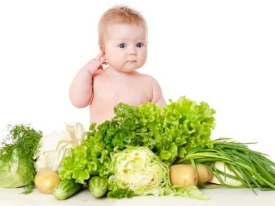 ทารก Prikorm ใน 7 เดือนกับผัก