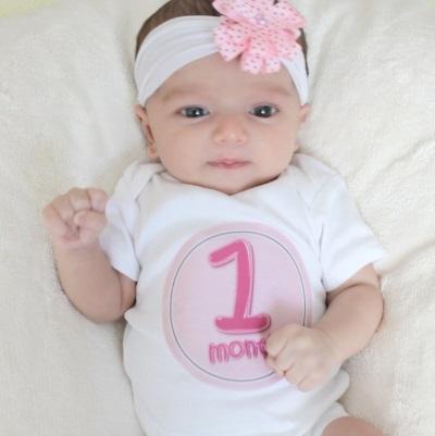 Baby in 1 maand