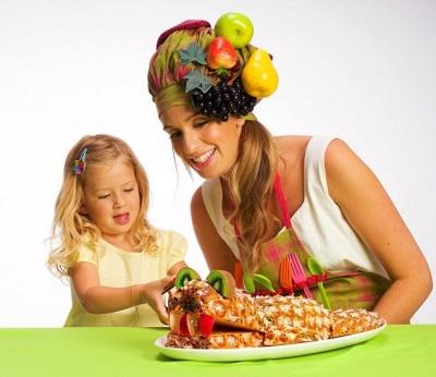 Buaya nanas - buat ibu dan anak perempuan