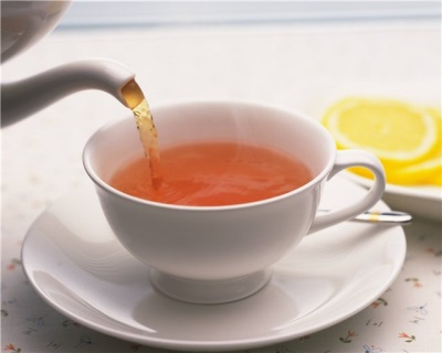 Slecht gebrouwen thee voor een kind van 3 jaar