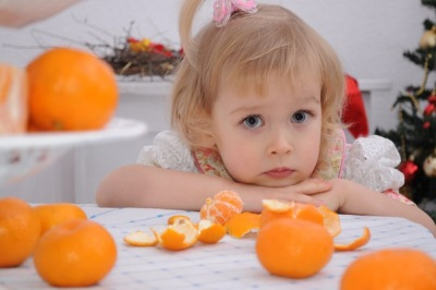 Alergi ke Mandarin