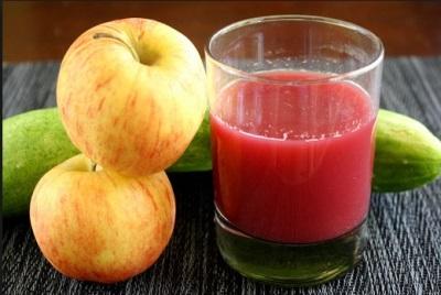 น้ำแอปเปิ้ลบีท