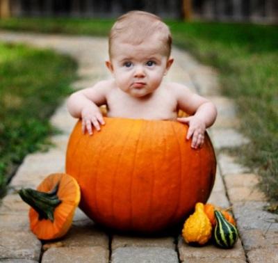 Bayi dalam labu