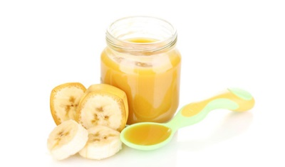 Bananenpuree