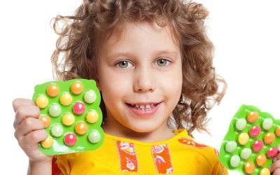 Integratori vitaminici per un bambino
