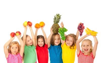 Frutta per bambini