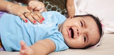 مغص في الطفل