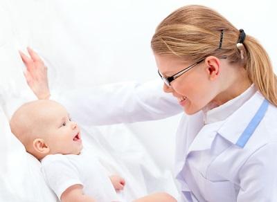 วิตามินสำหรับเด็กทารกที่กำหนดกุมารแพทย์