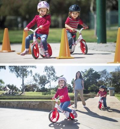 Kinderen op fietstocht