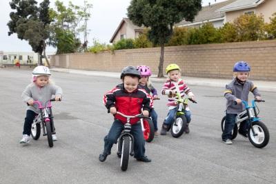 Kinderen op de bikebike