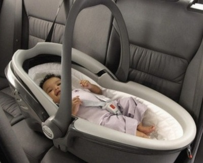 Pembawa bayi cocoon - masa maksimum untuk mengangkut bayi