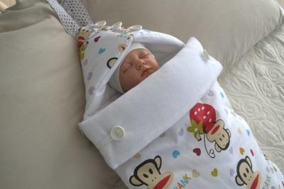 Busta-bozzolo per i neonati