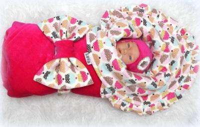 Coperta del pannolino del bozzolo per i neonati