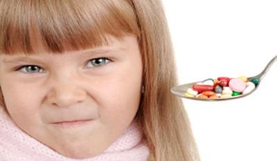 جليكاين في تركيبة مع أدوية أخرى للأطفال