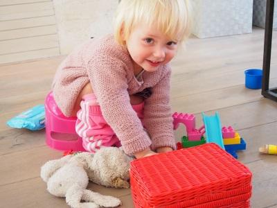 Latihan semula anak ke panci