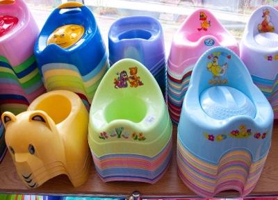 Pot untuk kanak-kanak adalah pilihan