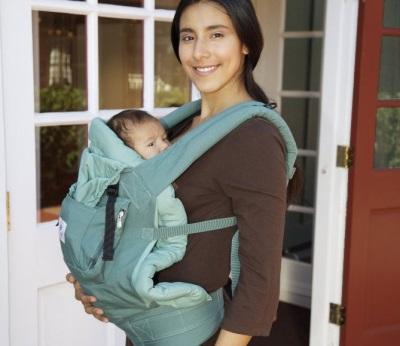 Ergo-rugzak voor het dragen van pasgeborenen