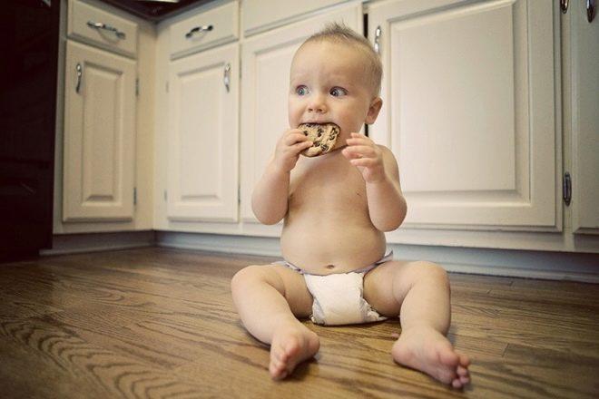 Nutrição do bebê em 1 ano