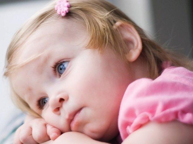 Kind tijdens ziekte