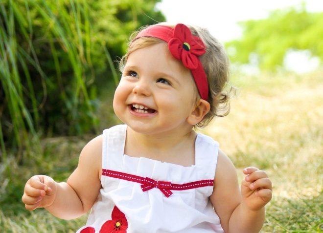 Bambino in 1 anno